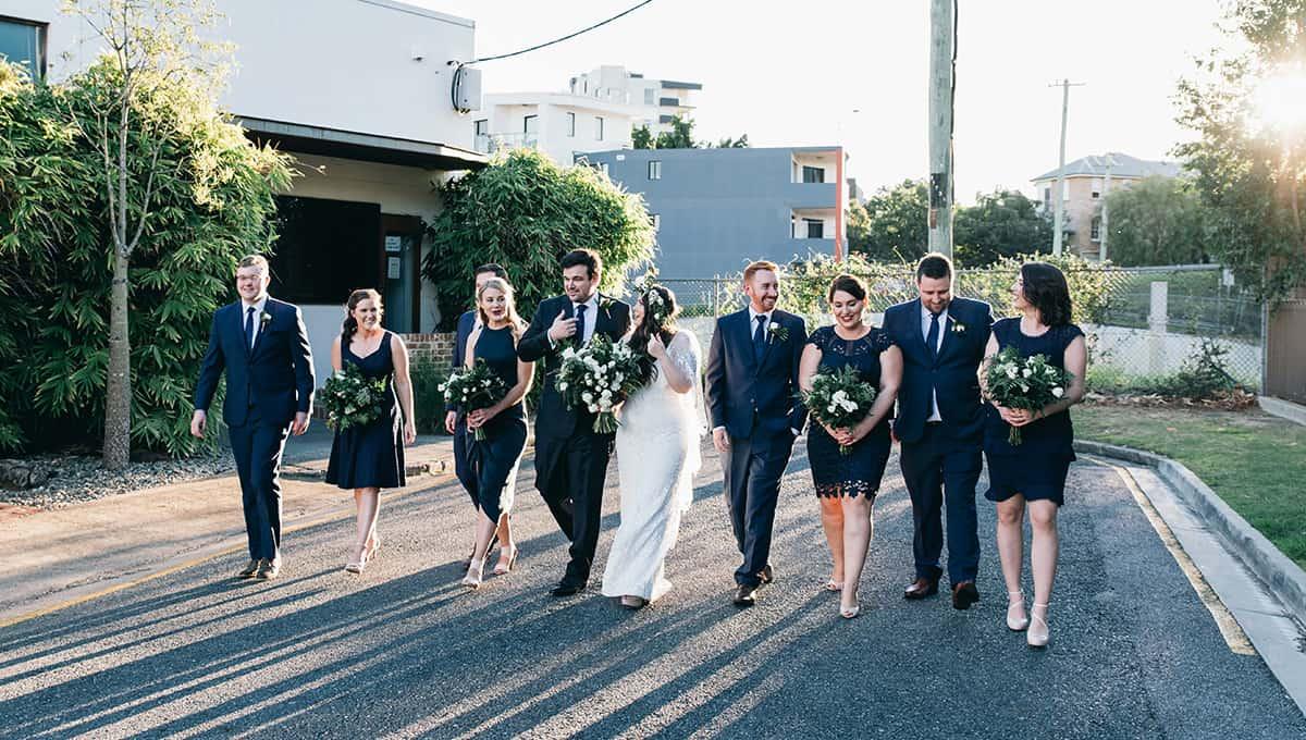 Wedding of Emily + Matt