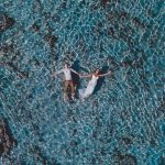 It's official – we're obsessed with drone wedding photography
