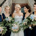 Bridesmaid style: Navy is the new black