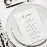 5 reception table styling looks with stationery gurus Papier