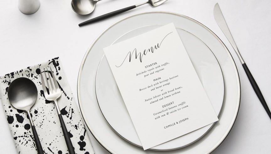TheFold_WeddingTableSettings_ClassicCalligraphy_social