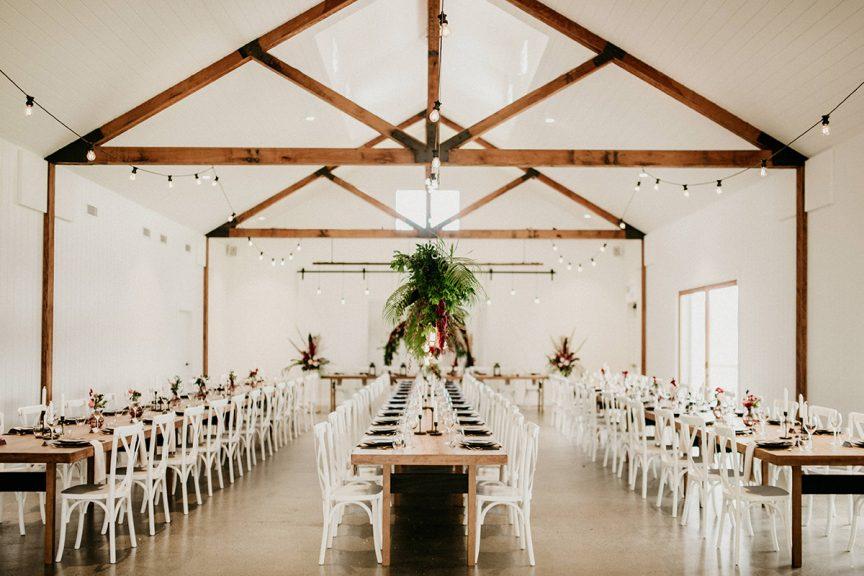 the wedding barn at Summergrove