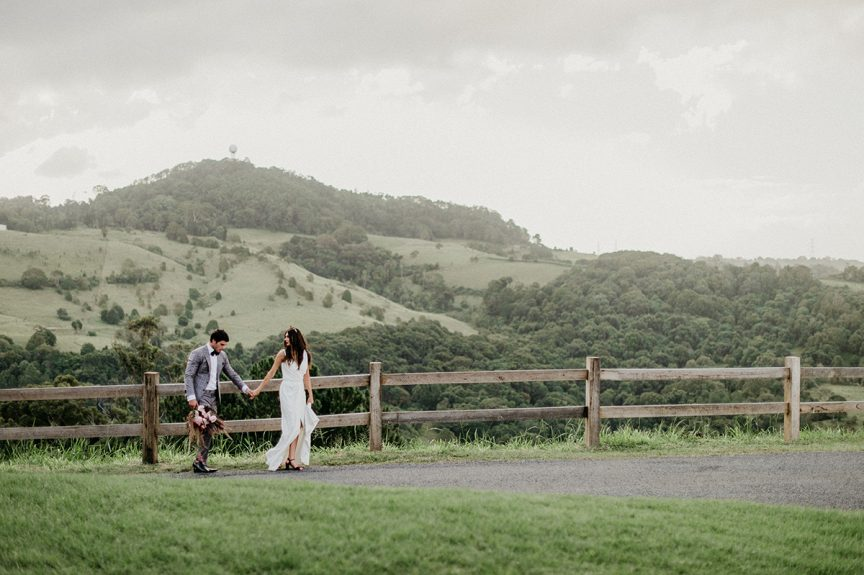 bride and groom at Summergrove