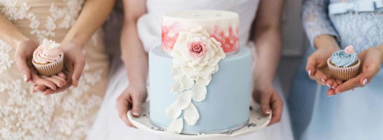 wedding cakes landing page