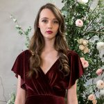 10 beautiful burgundy dresses for your bridesmaids