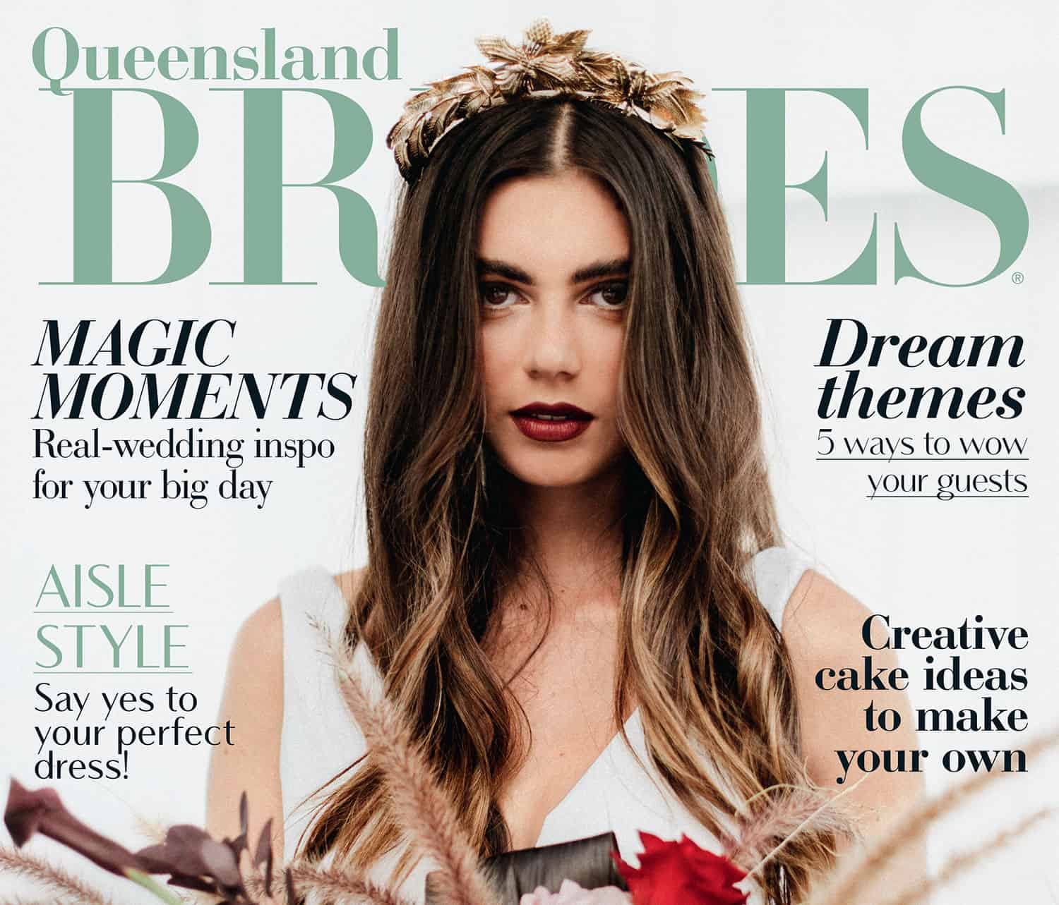 Queensland Brides Magazine Spring Summer 2018 feature image