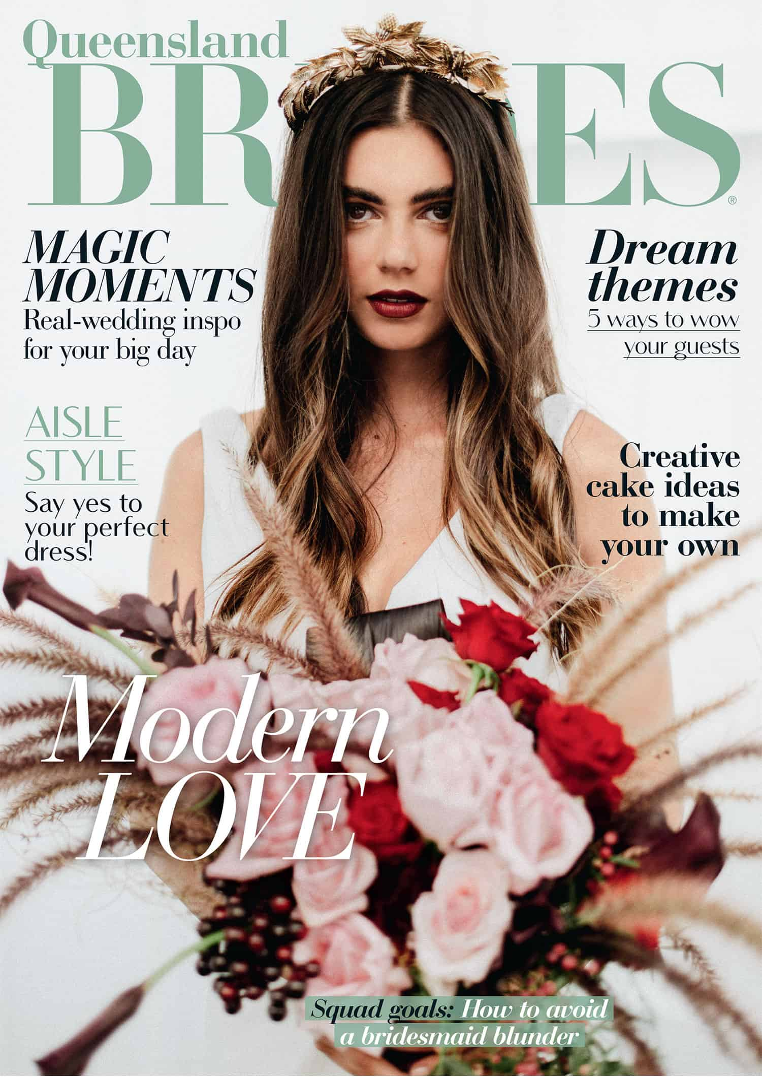Queensland brides magazine spring summer 2018 edition