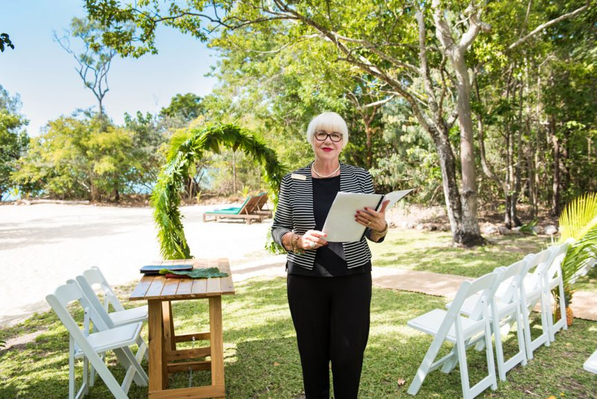wedding celebrant whitsundays