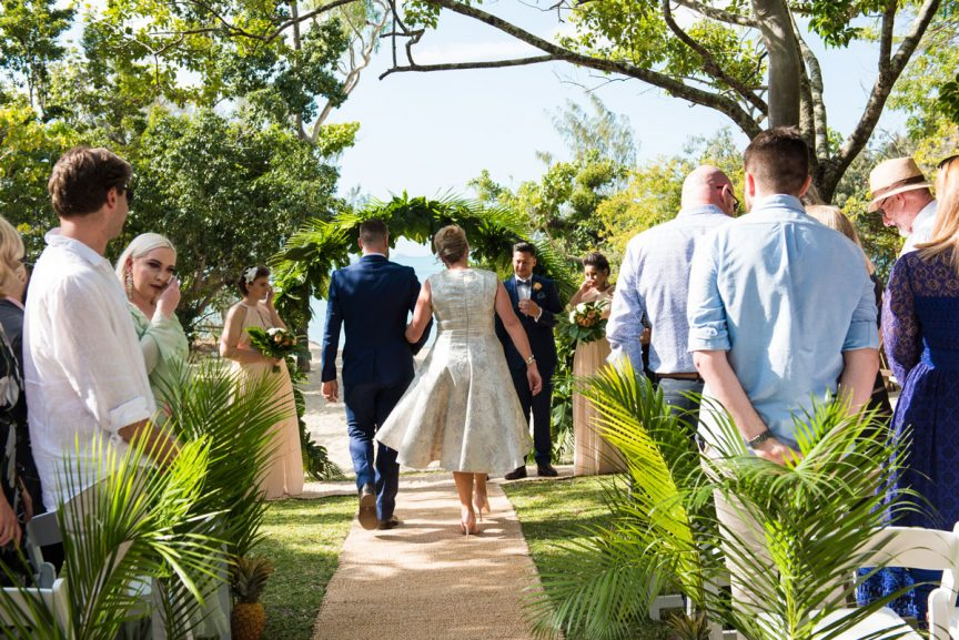 walking the aisle