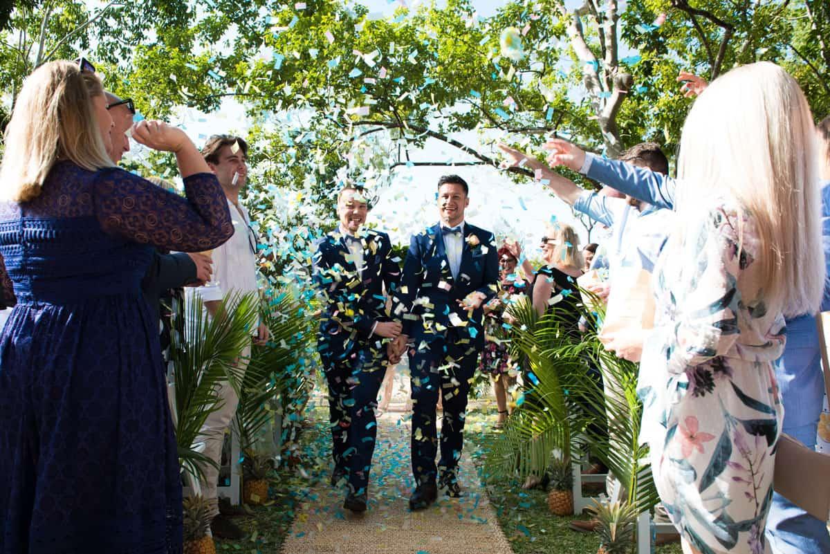 The Joshua's wedding
