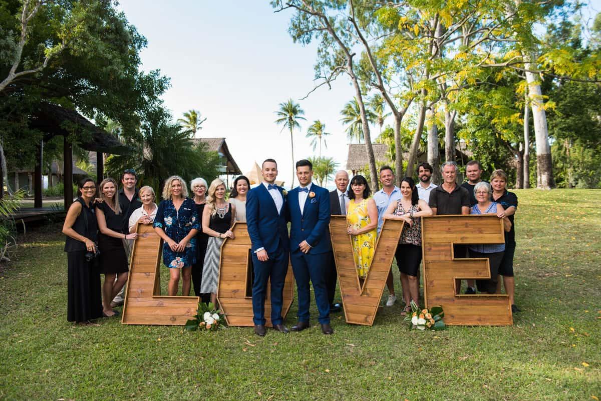 Josh + Josh - wedding in the Whitsundays