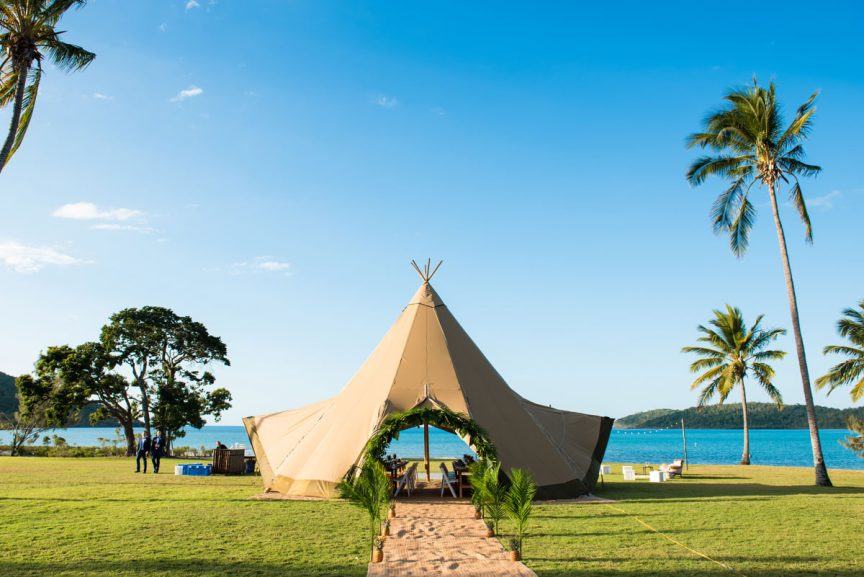 Teepee Events in Whitsundays