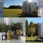 Queensland's most glamorous portable powder rooms (we know you're curious!)