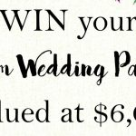 Win a dream wedding package