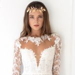 Wedding dress trends for 2019: Illusion sleeves