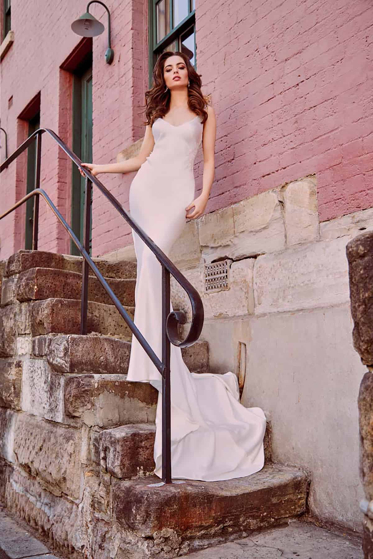 Olivia-bias-gown-wedding-dress-simple-sleek