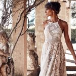 Wedding dress trends: High- and mock-neck styles