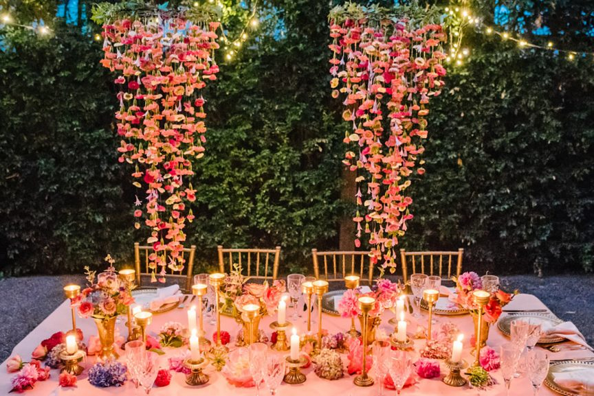 Colourful Styled Wedding Shoot in Brisbane
