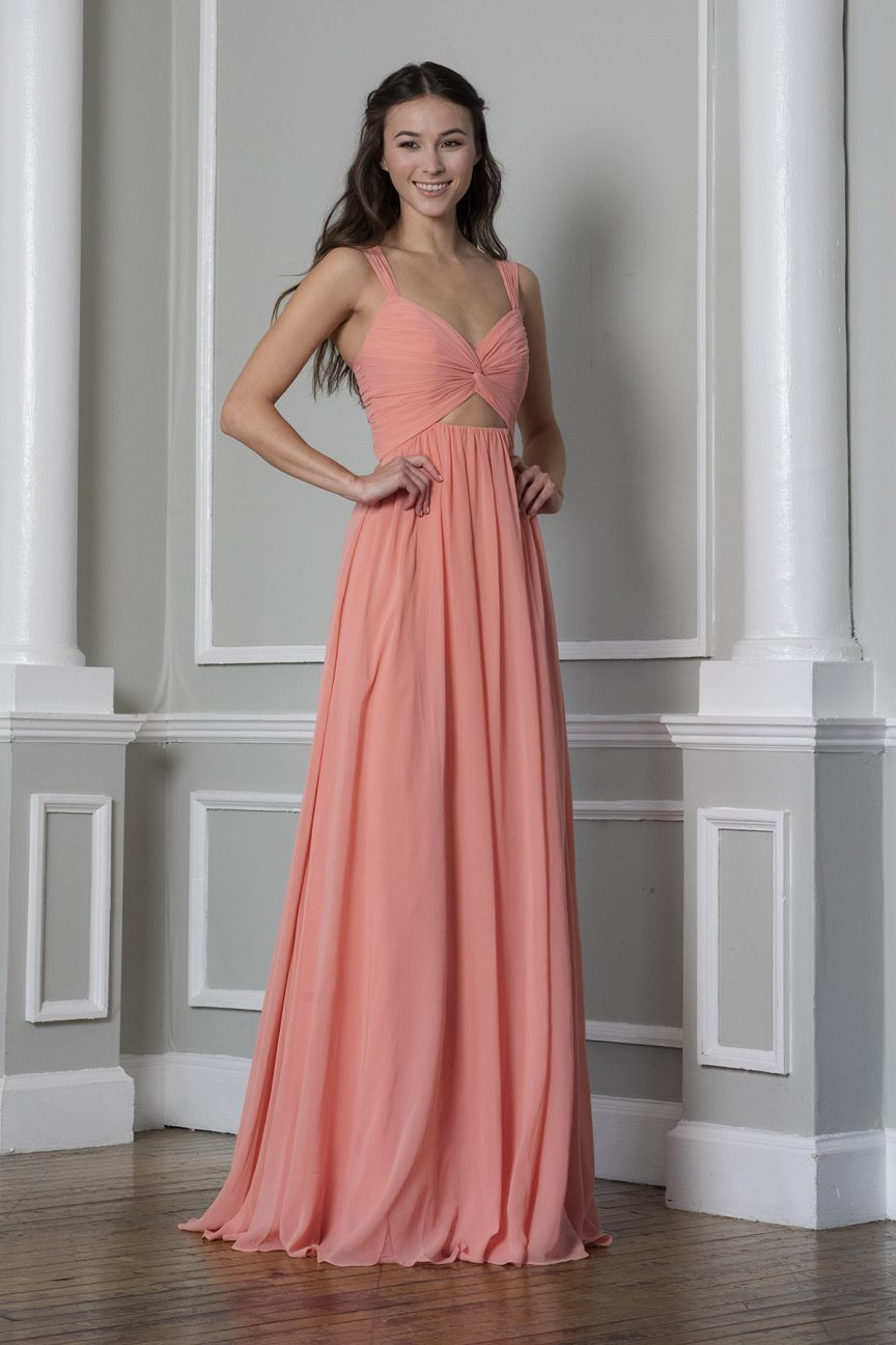 Peach_dress_THEIA_Bridesmaids_Spring_2020_collection