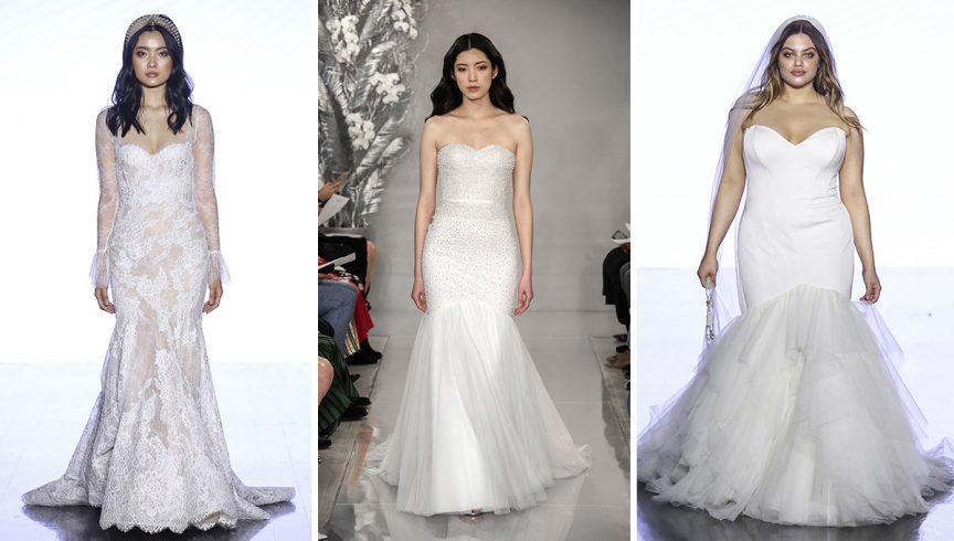 Bridal Fashion Week Spring 2020 trends: Mermaid styles - Queensland