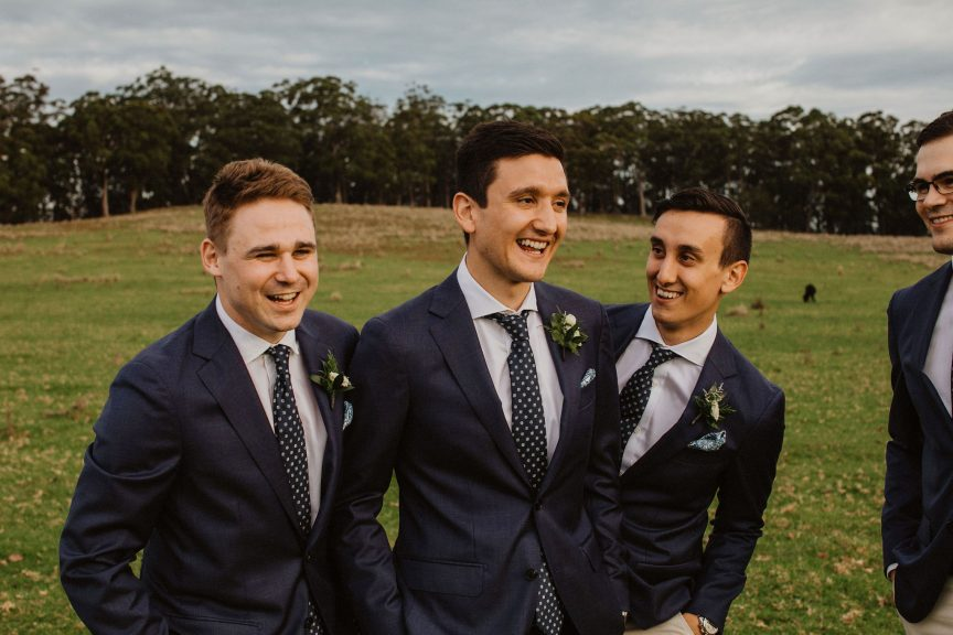 Rebecca & Dean's wedding at Spicers Peak Lodge