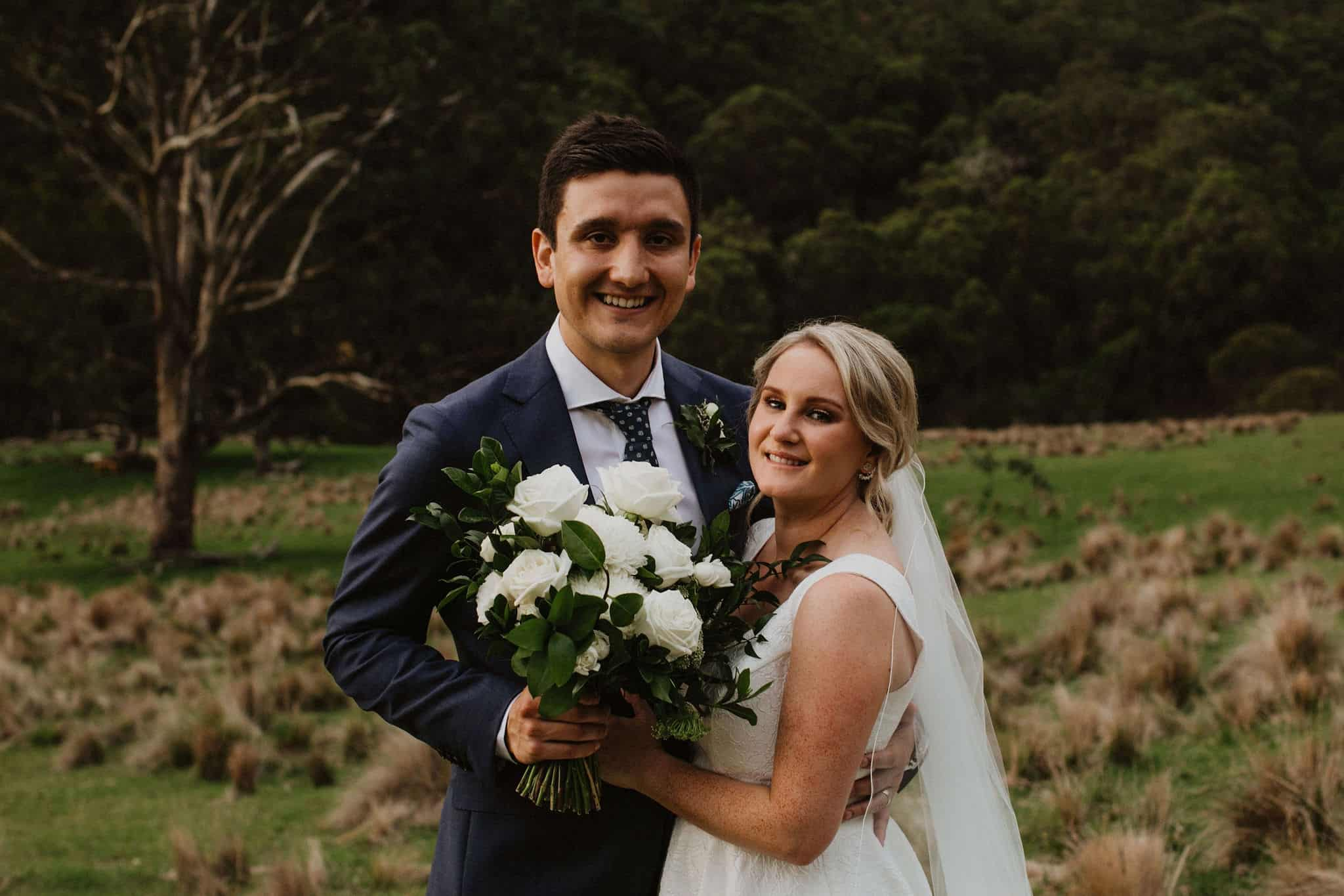 The wedding of Rebecca and Dean at Spicers Peak Lodge