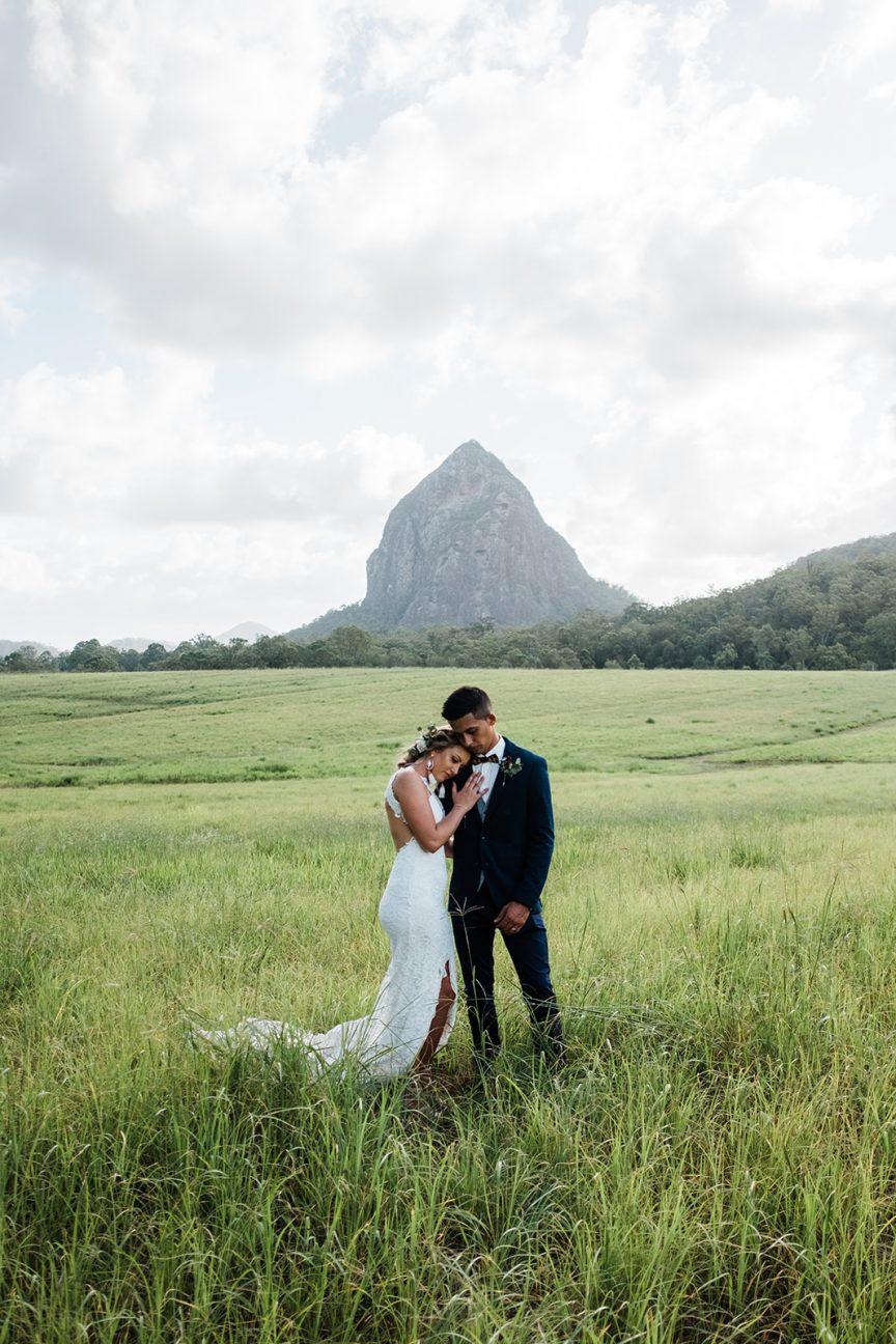 Niketa and Brian's Sunshine Coast Wedding