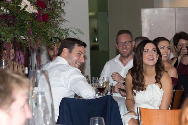 Laura and Michael's golf club wedding in Brisbane