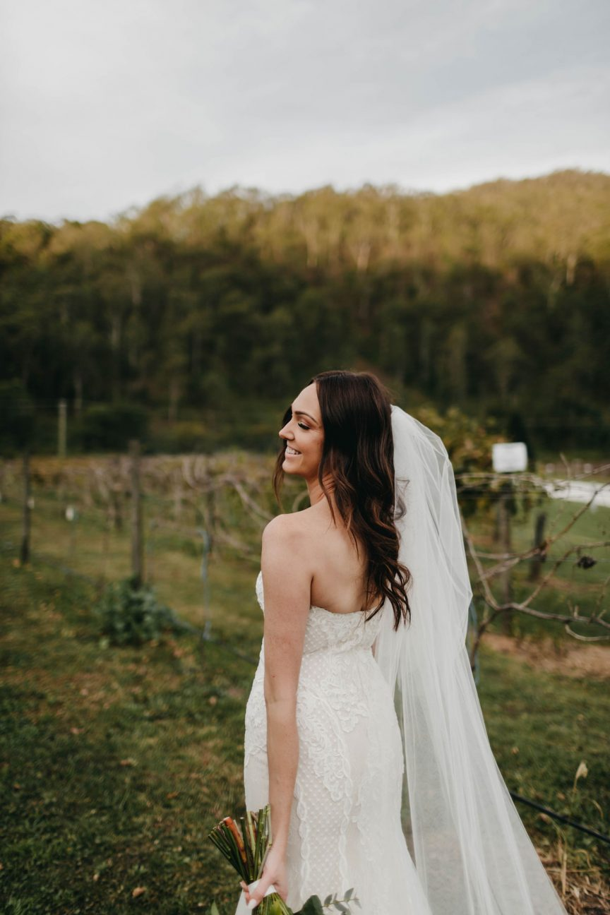Emily and Mike's wedding at O'Reilly's Canungra Valley Vineyards