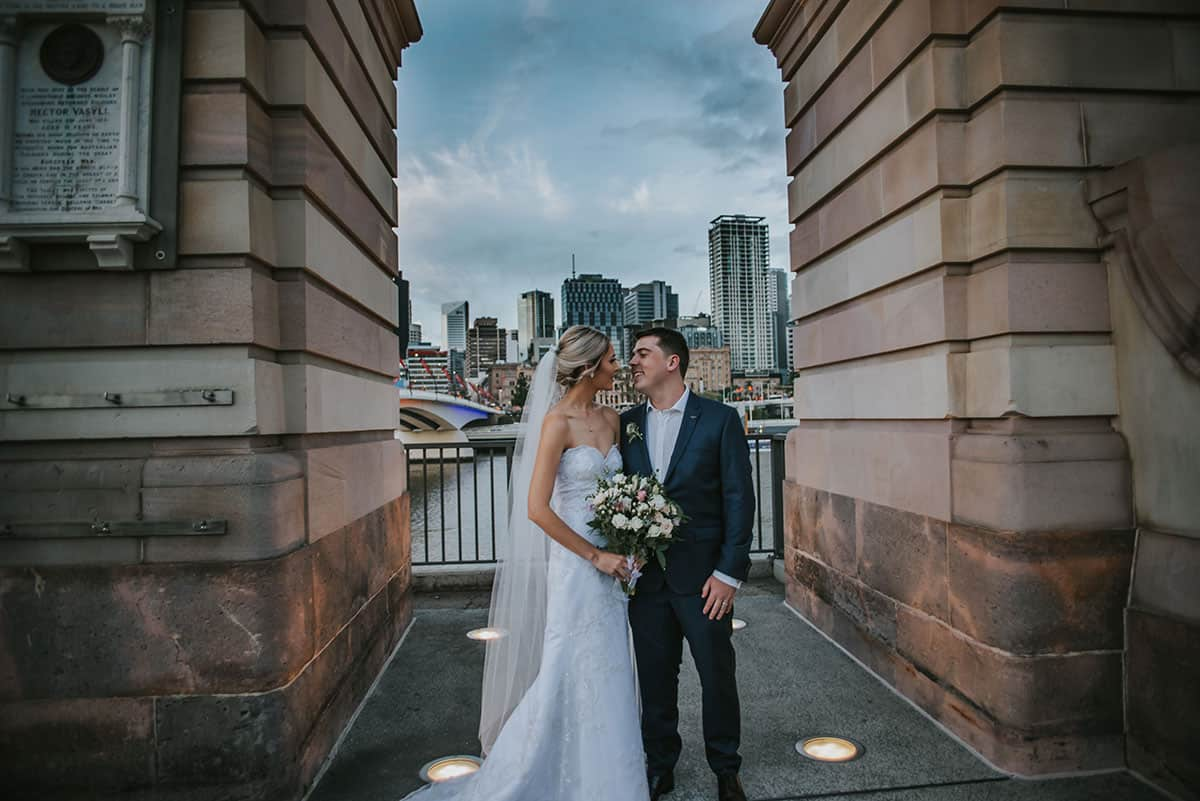Lucy and Zac's Brisbane wedding