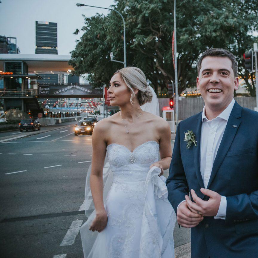 Lucy and Zac's Brisbane wedding