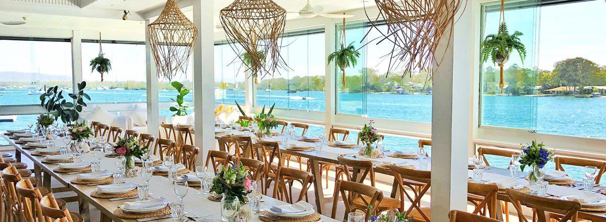 Noosa Boathhouse Sunshine Coast Wedding Venues