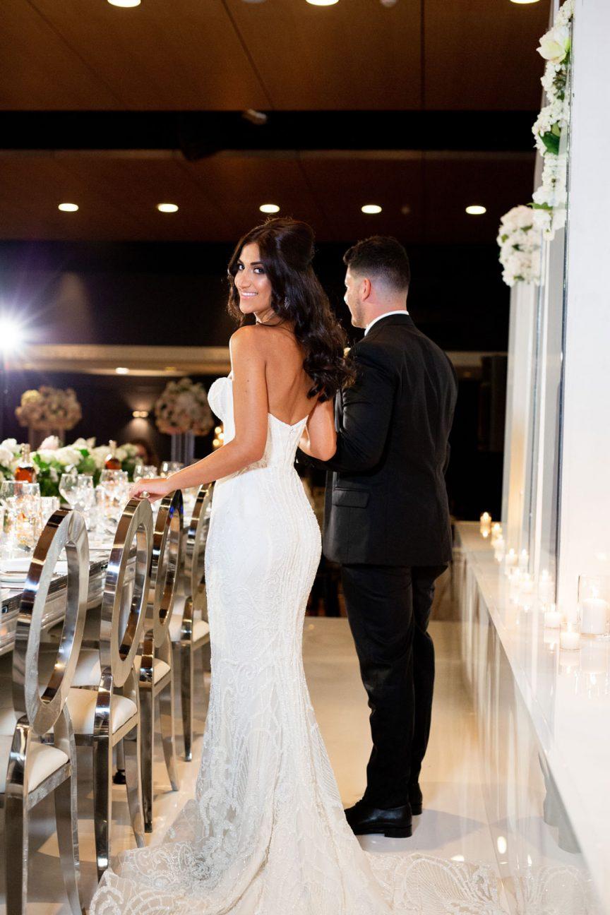 Zofia and Peter's Greek Club wedding