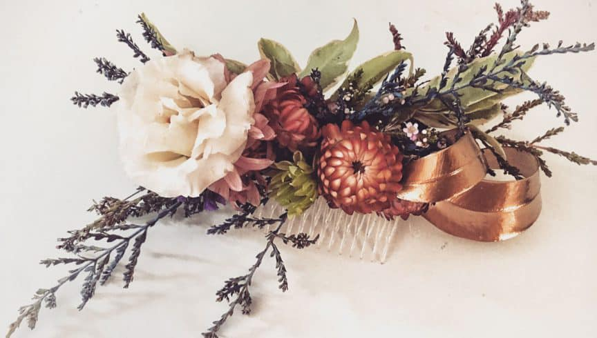 floral workshops - hairslide