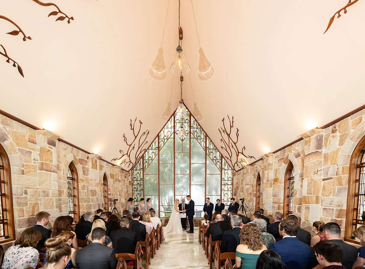 Meagan and Josh's wedding at The Chapel Montville
