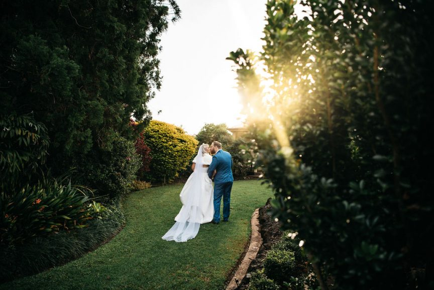 Britt & Isaac Wedding at Flaxton Gardens