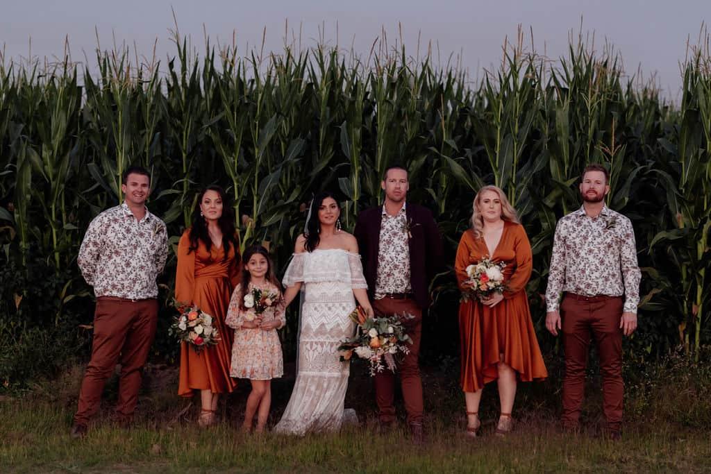 Mackay wedding of Aimee and Ryan