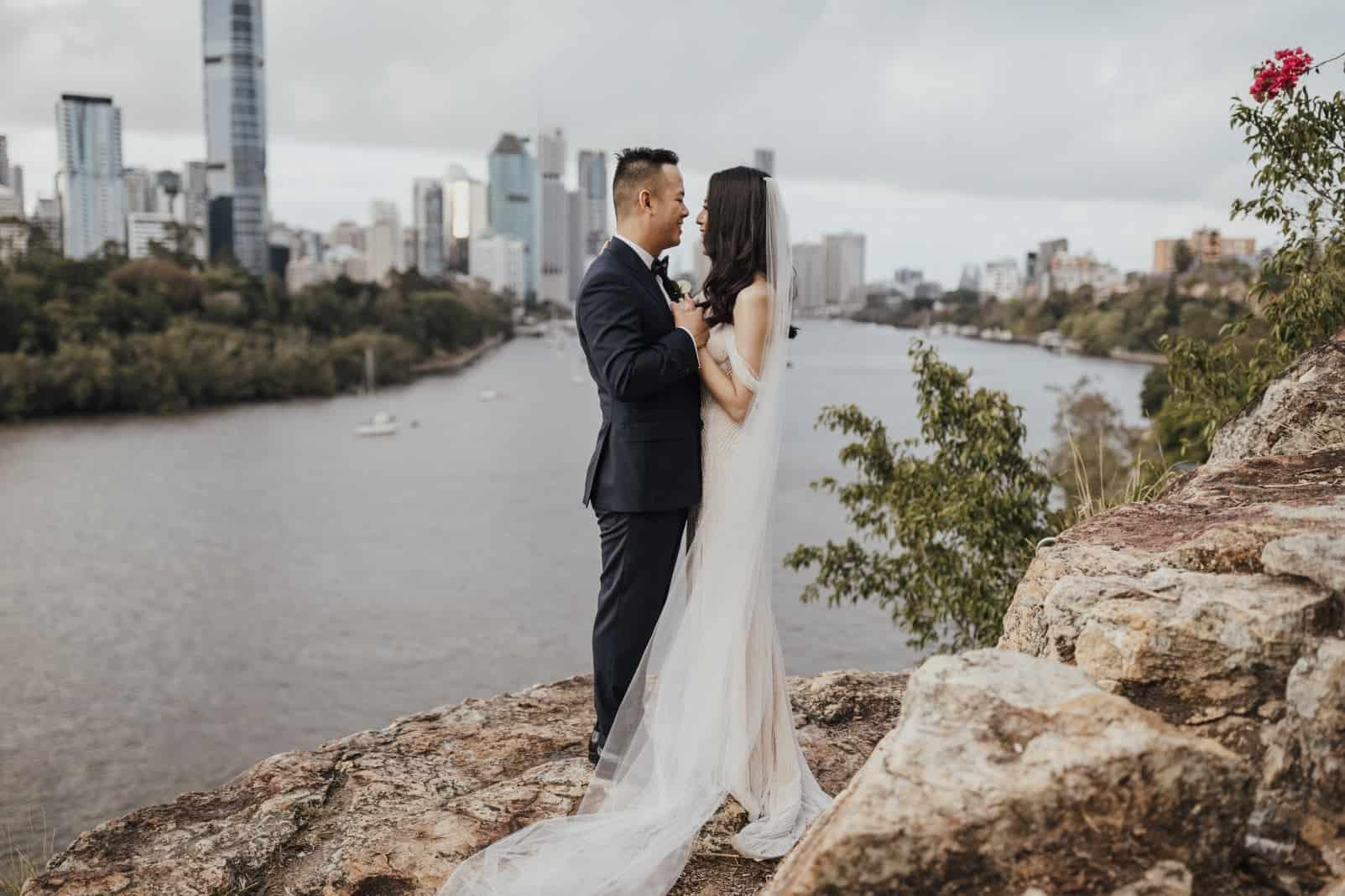 Brisbane wedding of Tramy + Sean