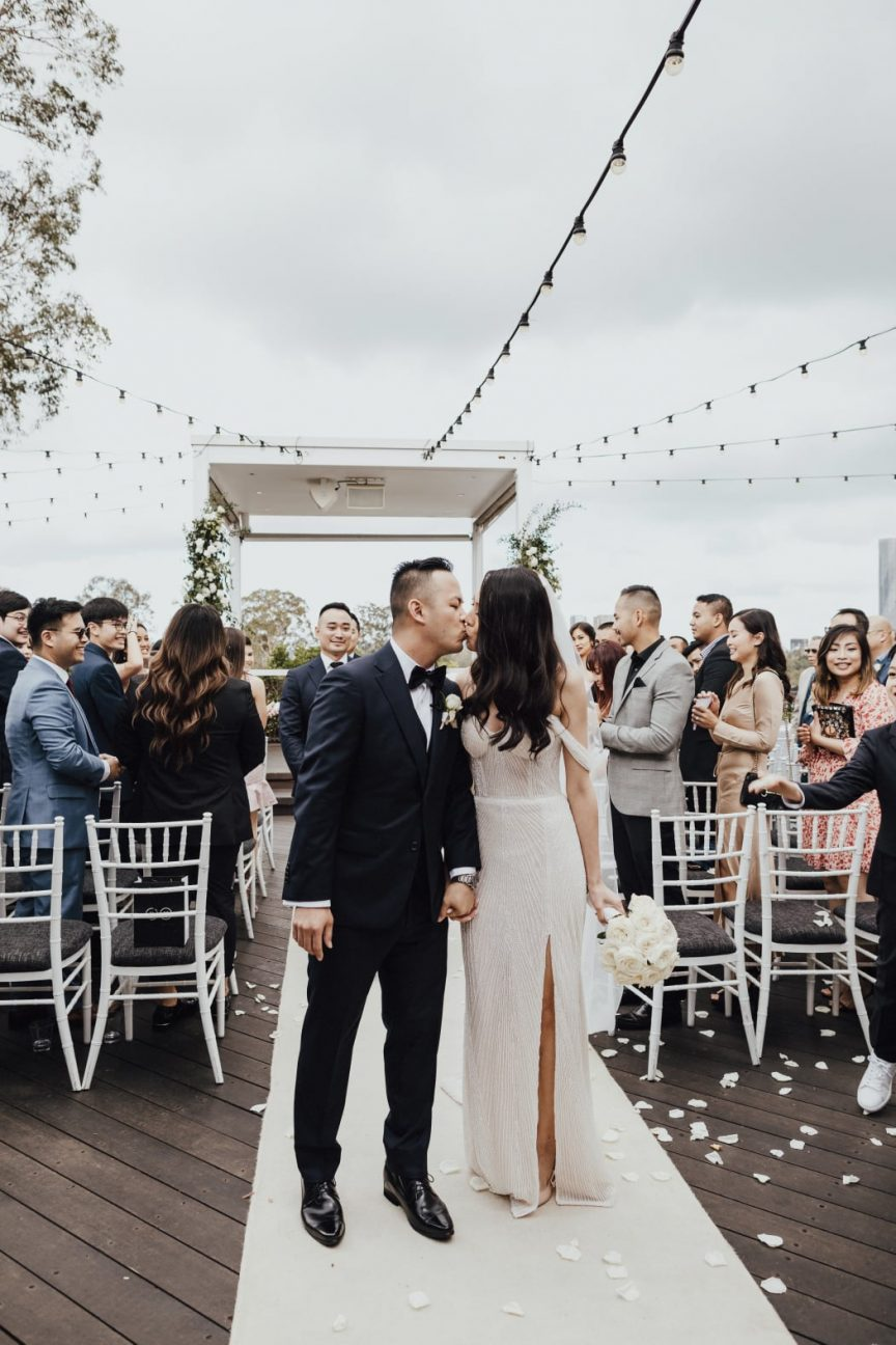 Tramy + Sean Brisbane wedding