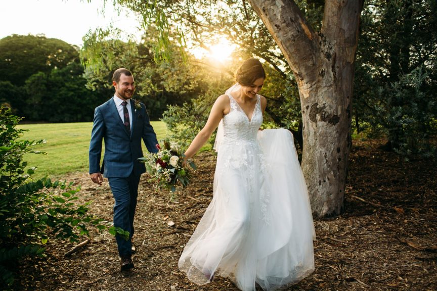 Ally and Tim wedding at Indooroopilly Golf Club