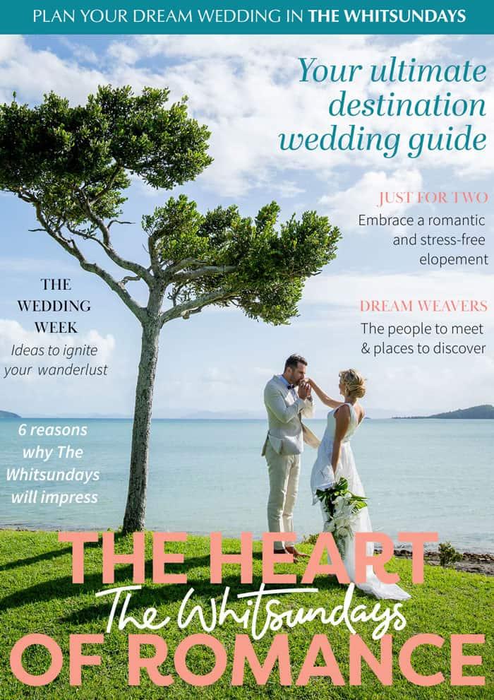 Tourism Whitsundays destination wedding planning magazine