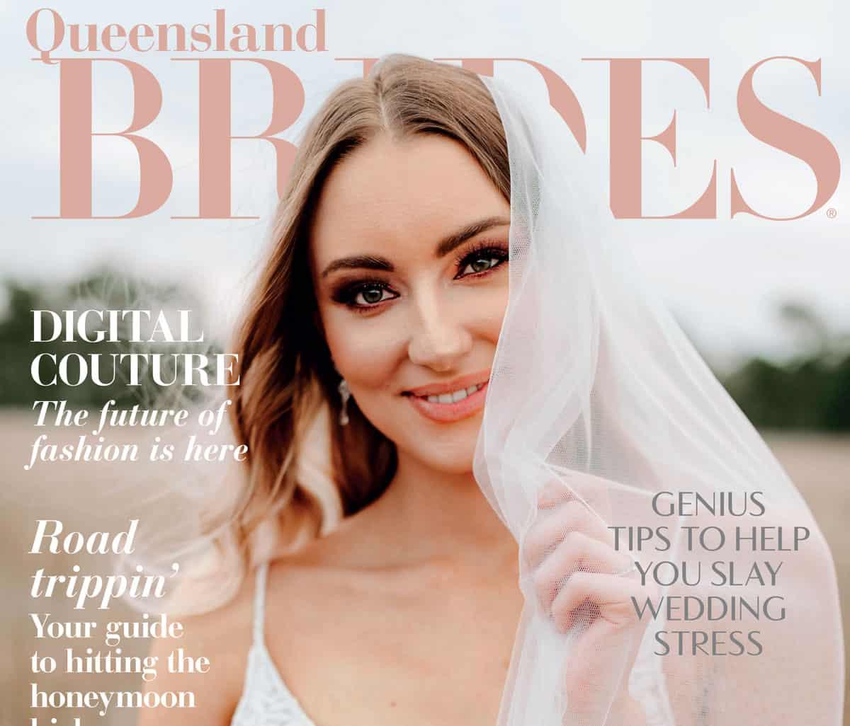 Queensland Brides magazine feature image