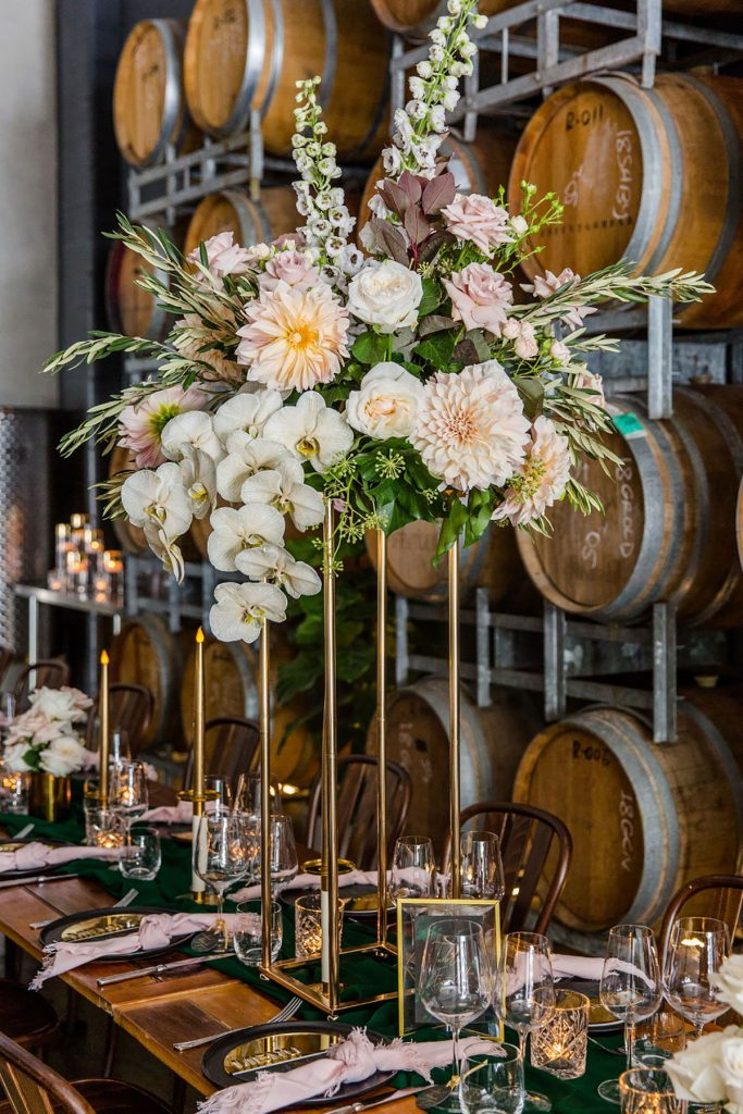 Soda Photography at CityWinery. Reception styling