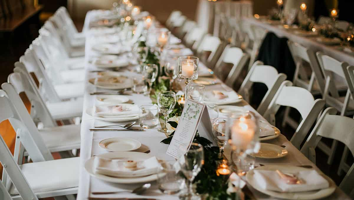 Reception styling - Amy Higg Photography