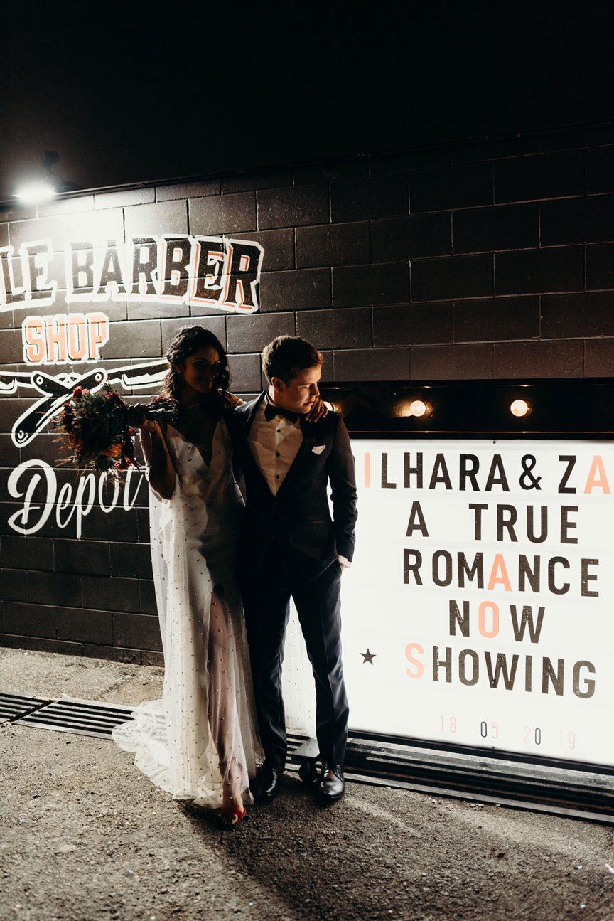 Real Wedding Dilhara Zach