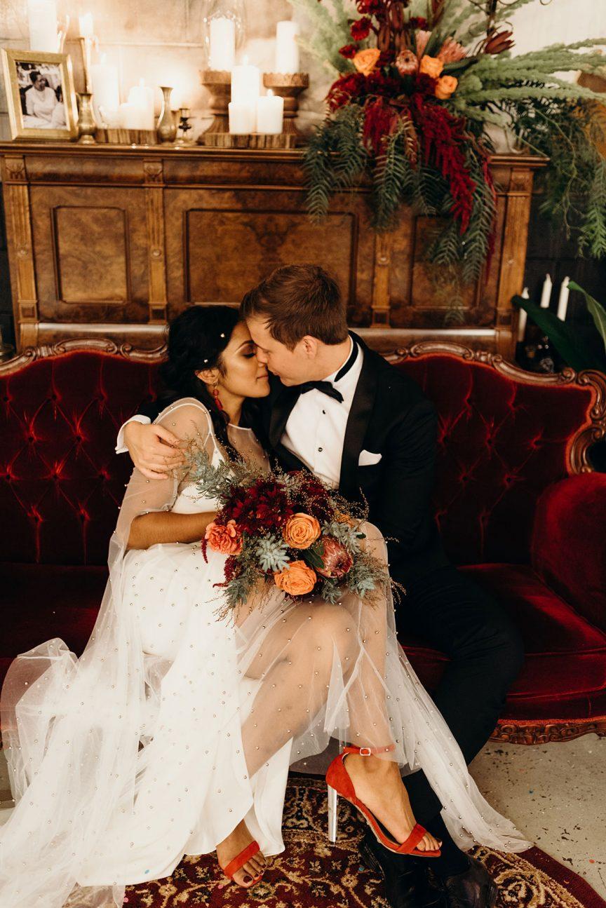 Real Wedding Dil Zach