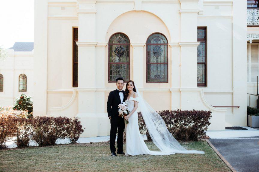Real Wedding Lisa David