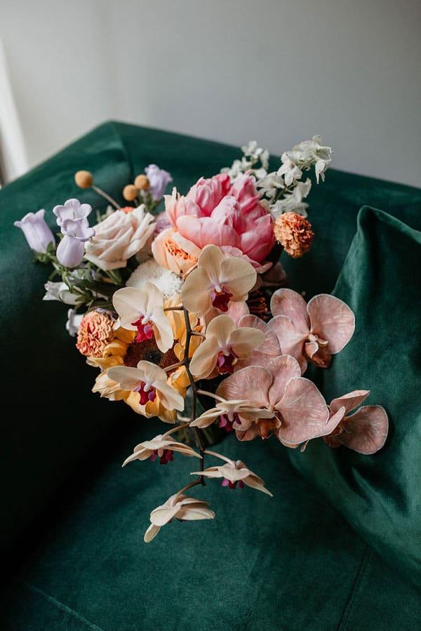 Spring Wedding Flowers, canterbury bells
