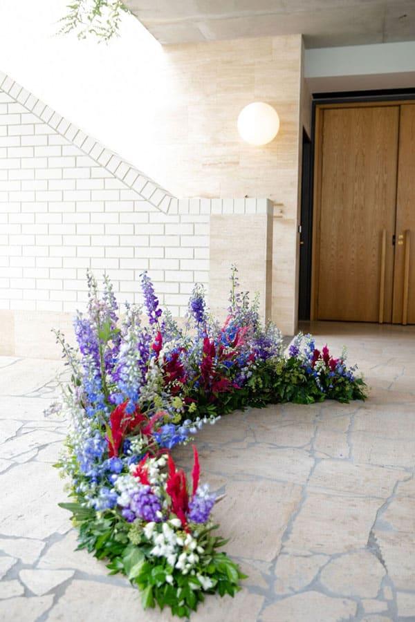 Spring Wedding Flowers, Delphinium