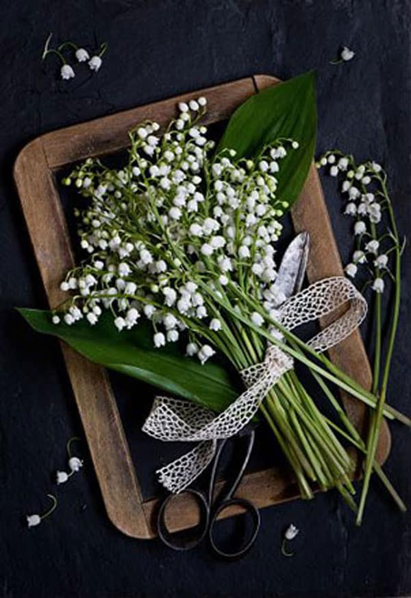 Spring Wedding Flowers, lily of the valley